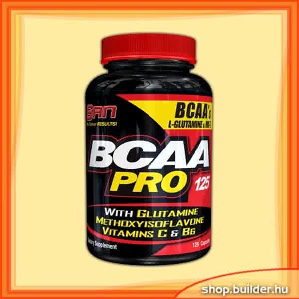 San BCAA-Pro 125 caps.