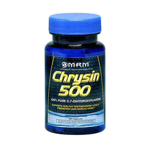 MRM Chrysin 500 30 caps.