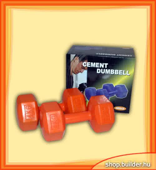 Alte echipamente sportive Plastic dumbell 4 kg pereche