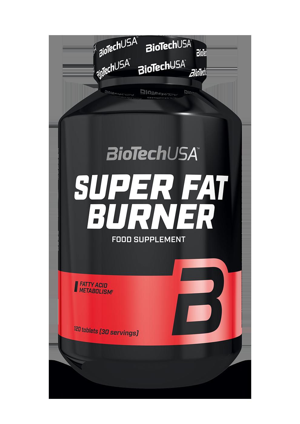 BioTech USA Super Fat Burner 120 tab.