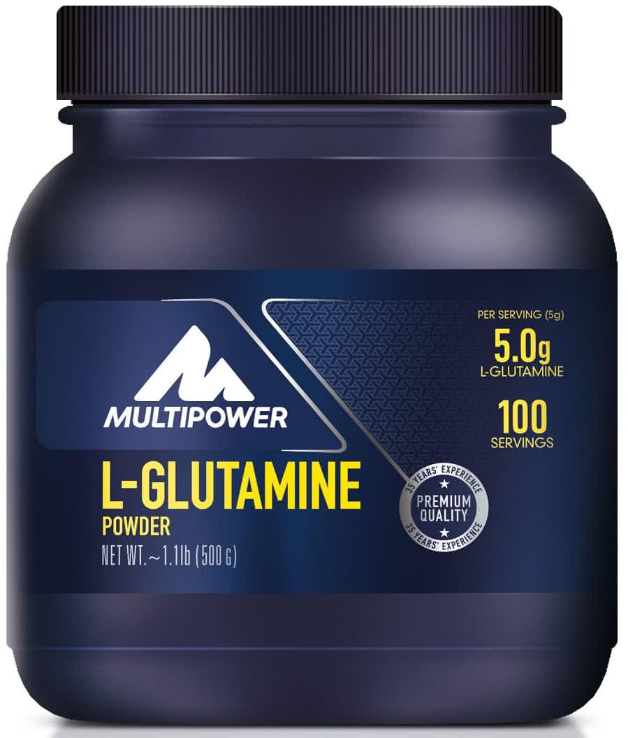 Multipower L-Glutamine 500 gr.