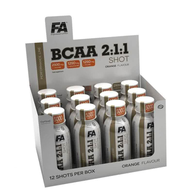 Fitness Authority BCAA 2:1:1 shot 120 ml