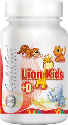 Calivita International Lion Kids D 90 tabl. de mest.