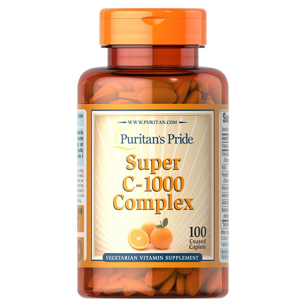 Puritans Pride Super C-1000 Complex 100 tab.