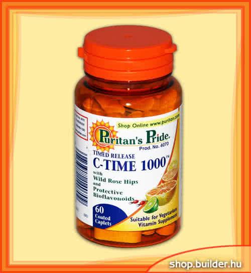 Puritans Pride Vitamin-C TR 1000mg 60 tab.