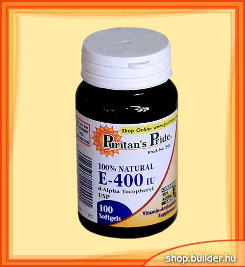 Puritans Pride Vitamin E-400 100 g.k.