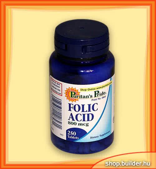Puritans Pride Folic Acid 250 tab.