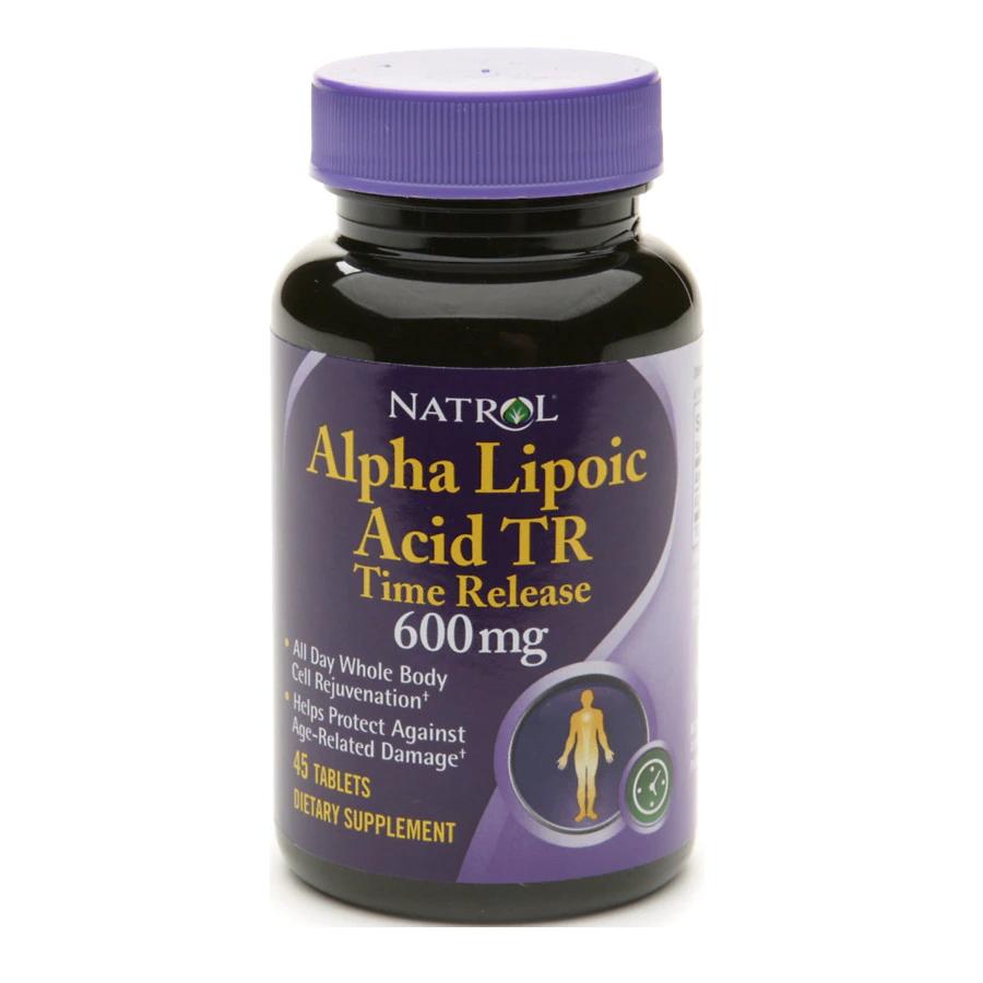 Natrol Alpha Lipoic Acid TR 45 caps.
