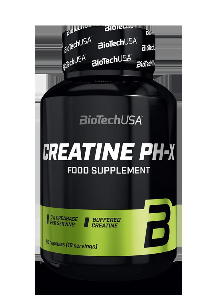BioTech USA Creatine pH-X 90 caps.