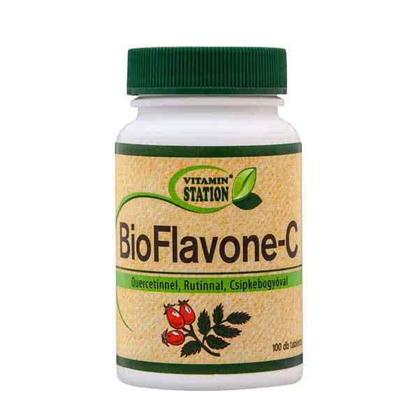 Vitamin Station BioFlavone-C 100 tab.
