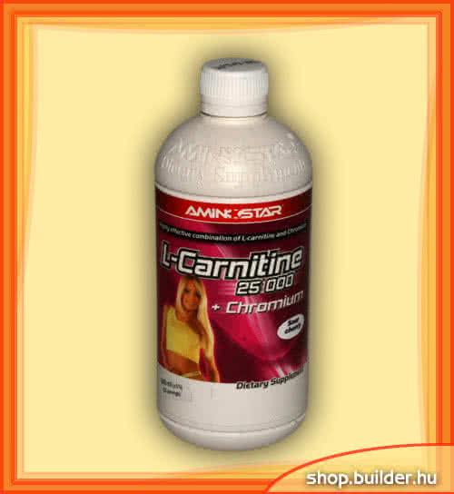 AminoStar L-Carnitine 25000 +Chromium 0,5 lit
