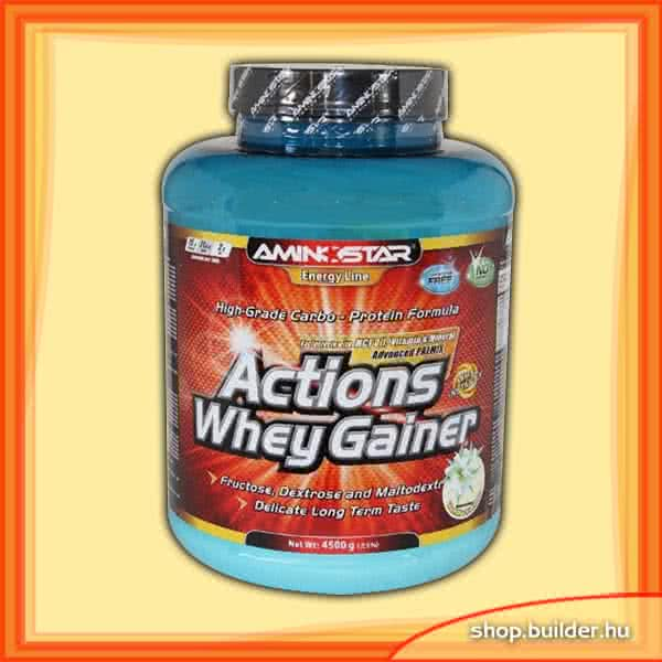 AminoStar Actions Whey Gainer 4,5 kg