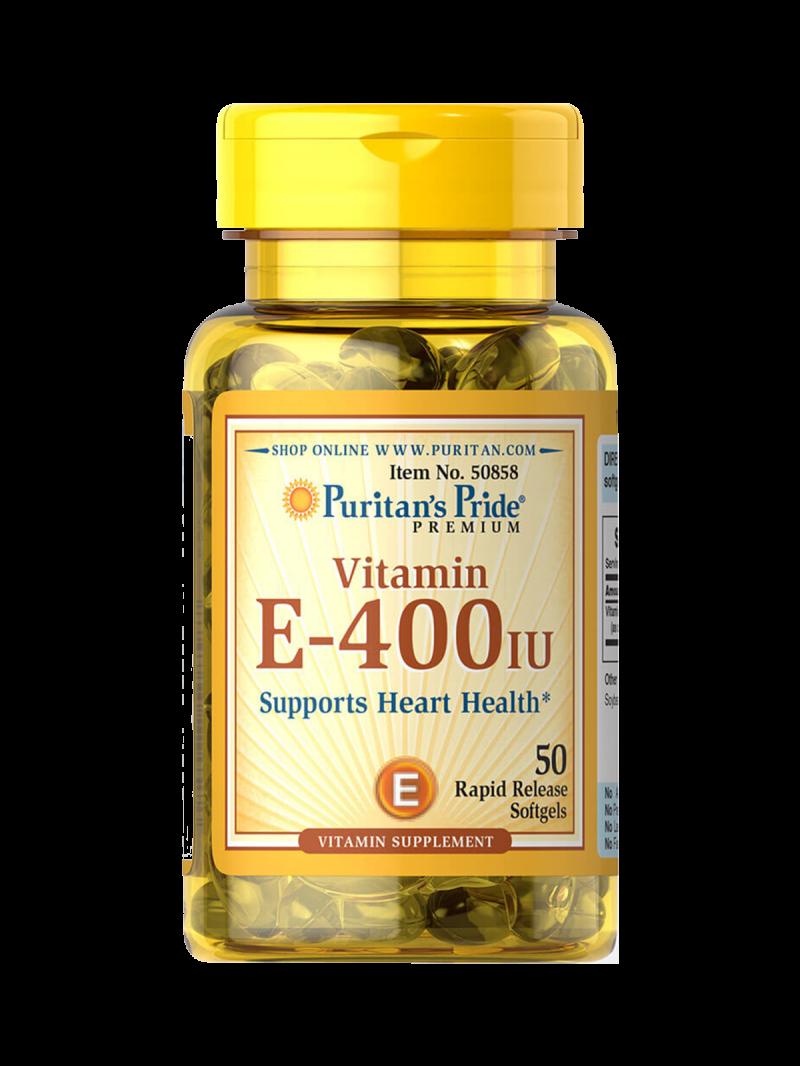 Puritans Pride Natural E-400IU 50 g.k.