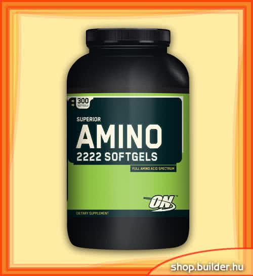 Optimum Nutrition Amino 2222 Softgels 300 g.k.