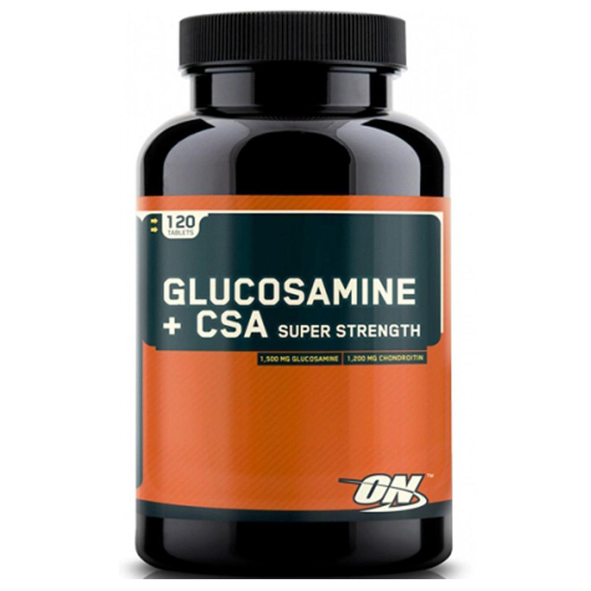 Optimum Nutrition Glucosamine + CSA Caps 120 caps.