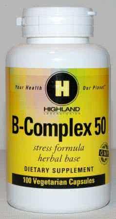 Highland B-Complex 100 caps.