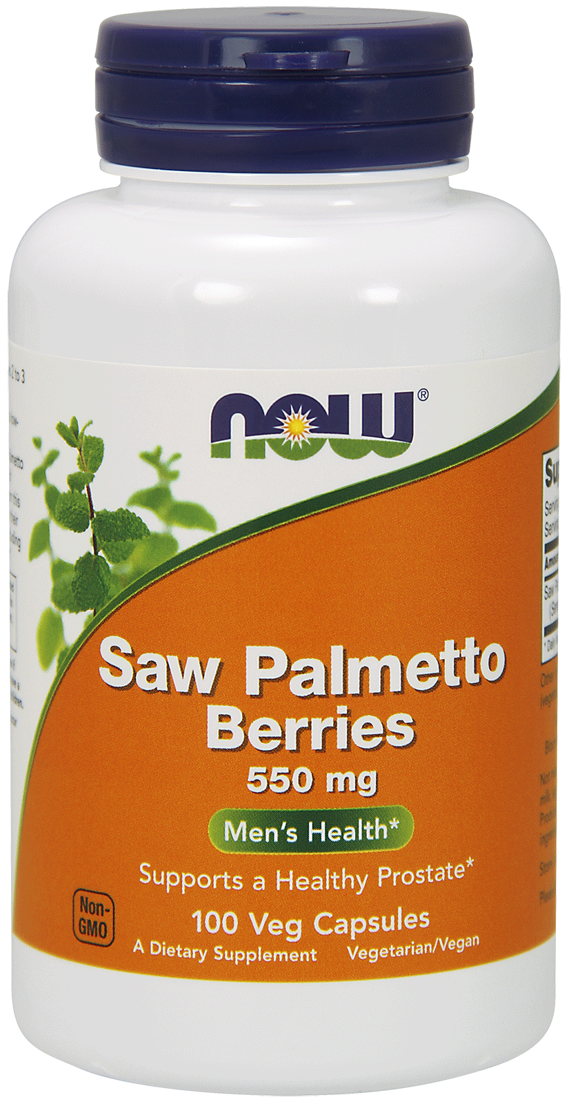 Now Foods Saw Palmetto Berries  100 caps.