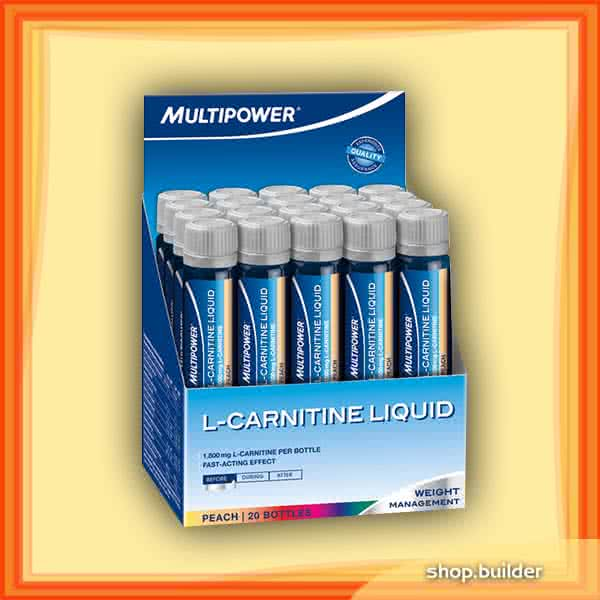 Multipower L-Carnitine Liquid 20x25 ml