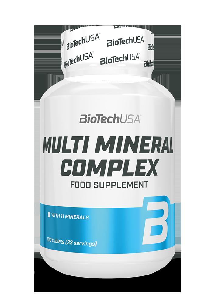BioTech USA Multi Mineral Complex 100 tab.