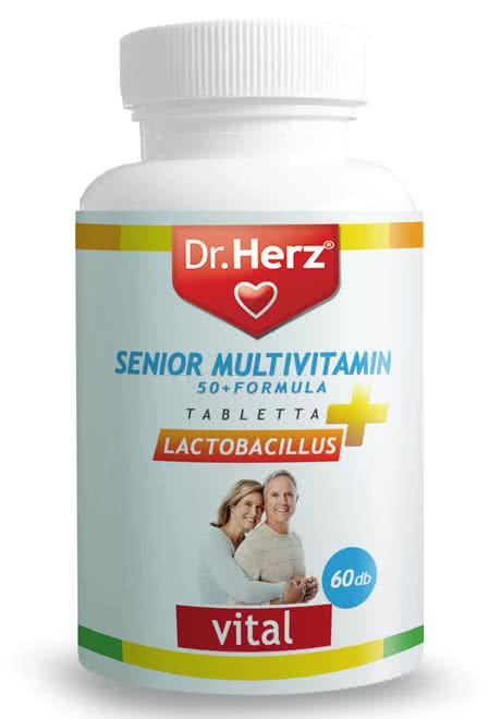 Dr. Herz Senior multivitamin 60 tab.
