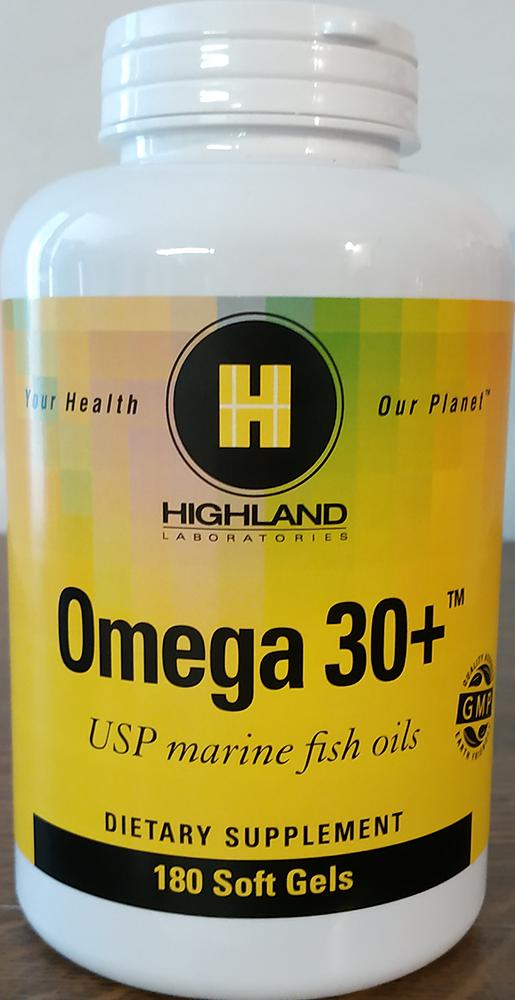 Highland Omega 30+ (EPA-DHA) 180 g.k.