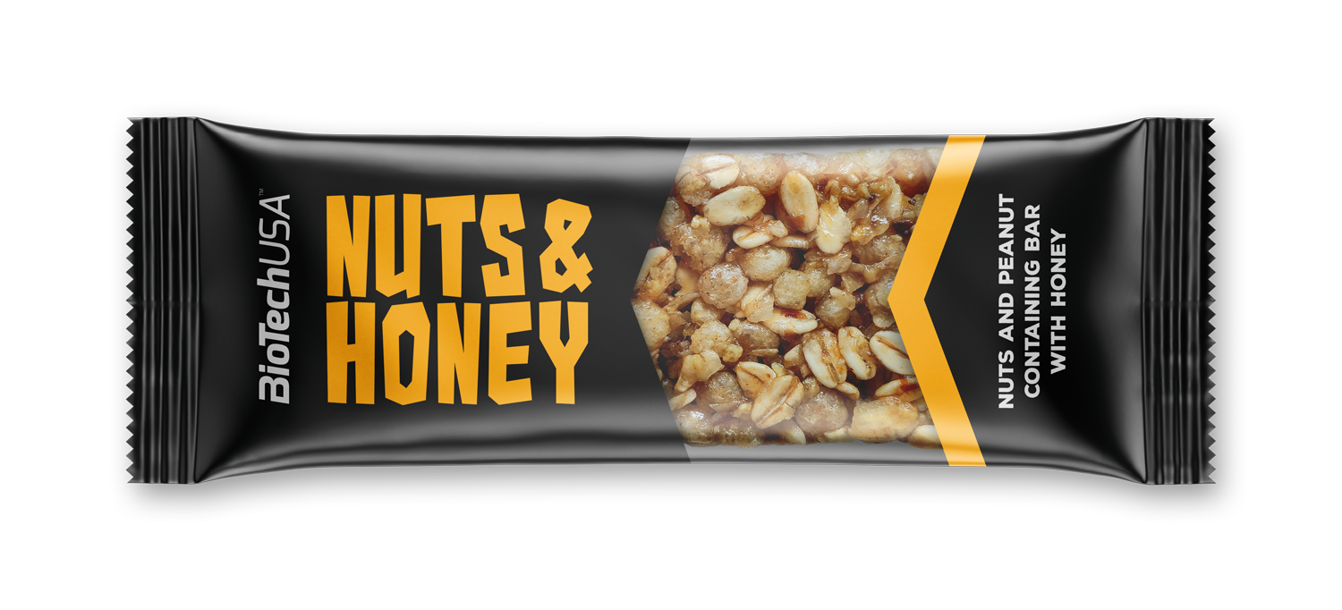 BioTech USA Nuts & Honey 35 gr.