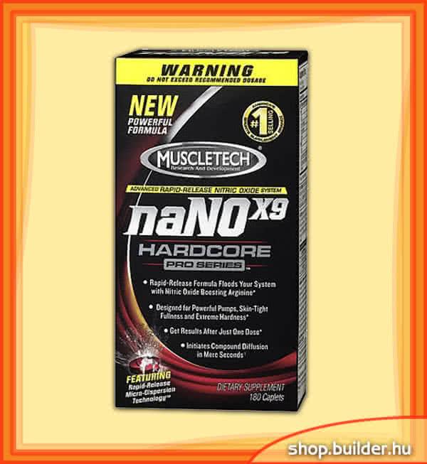 MuscleTech naNOx9 Hardcore Pro Series 180 caps.