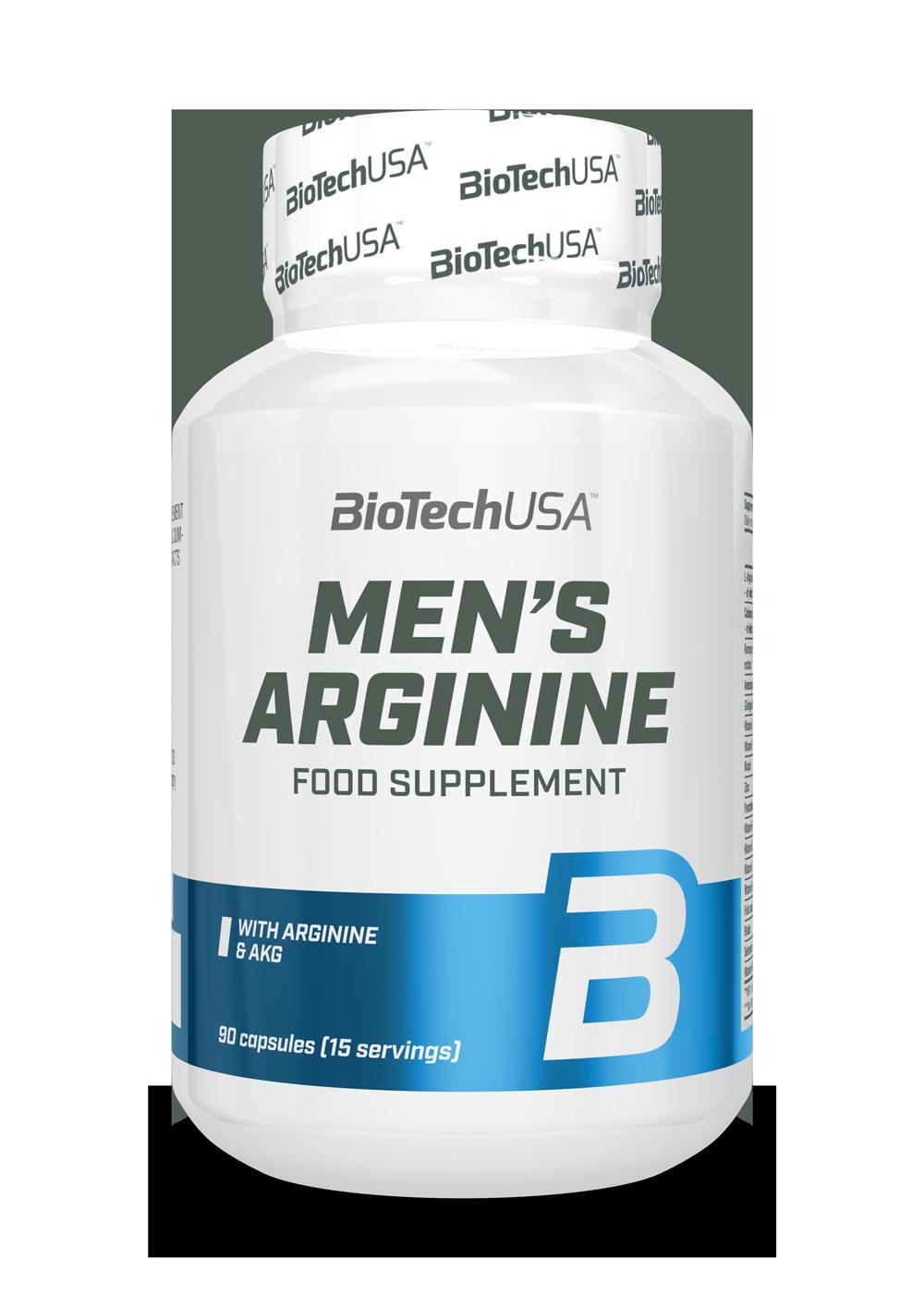 BioTech USA Mens Arginine 90 caps.