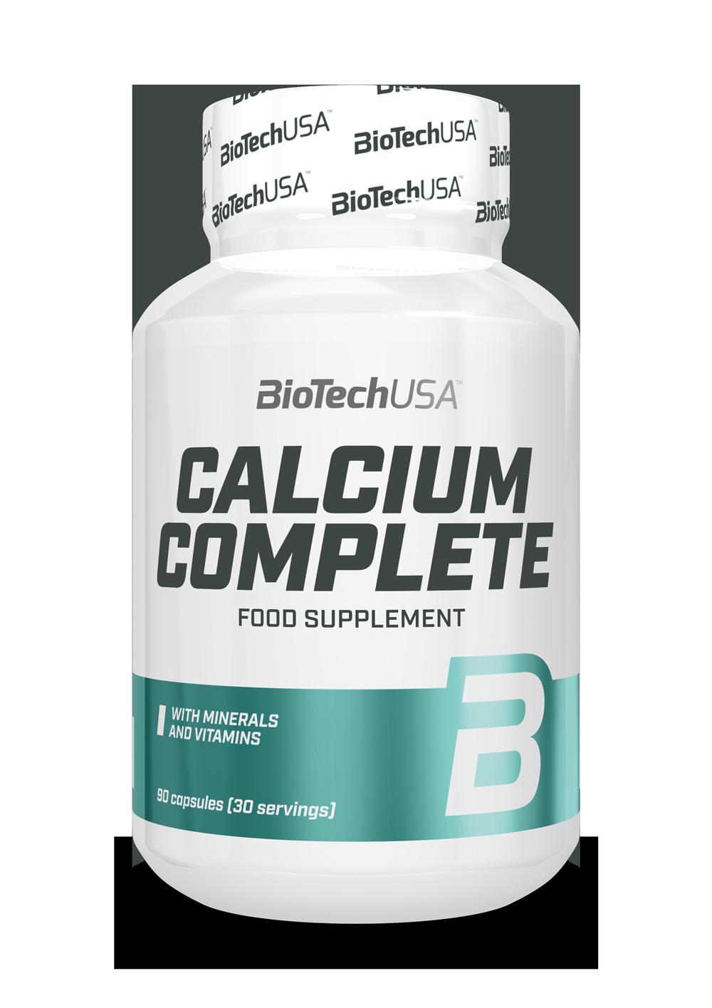 BioTech USA Calcium Complete 90 caps.