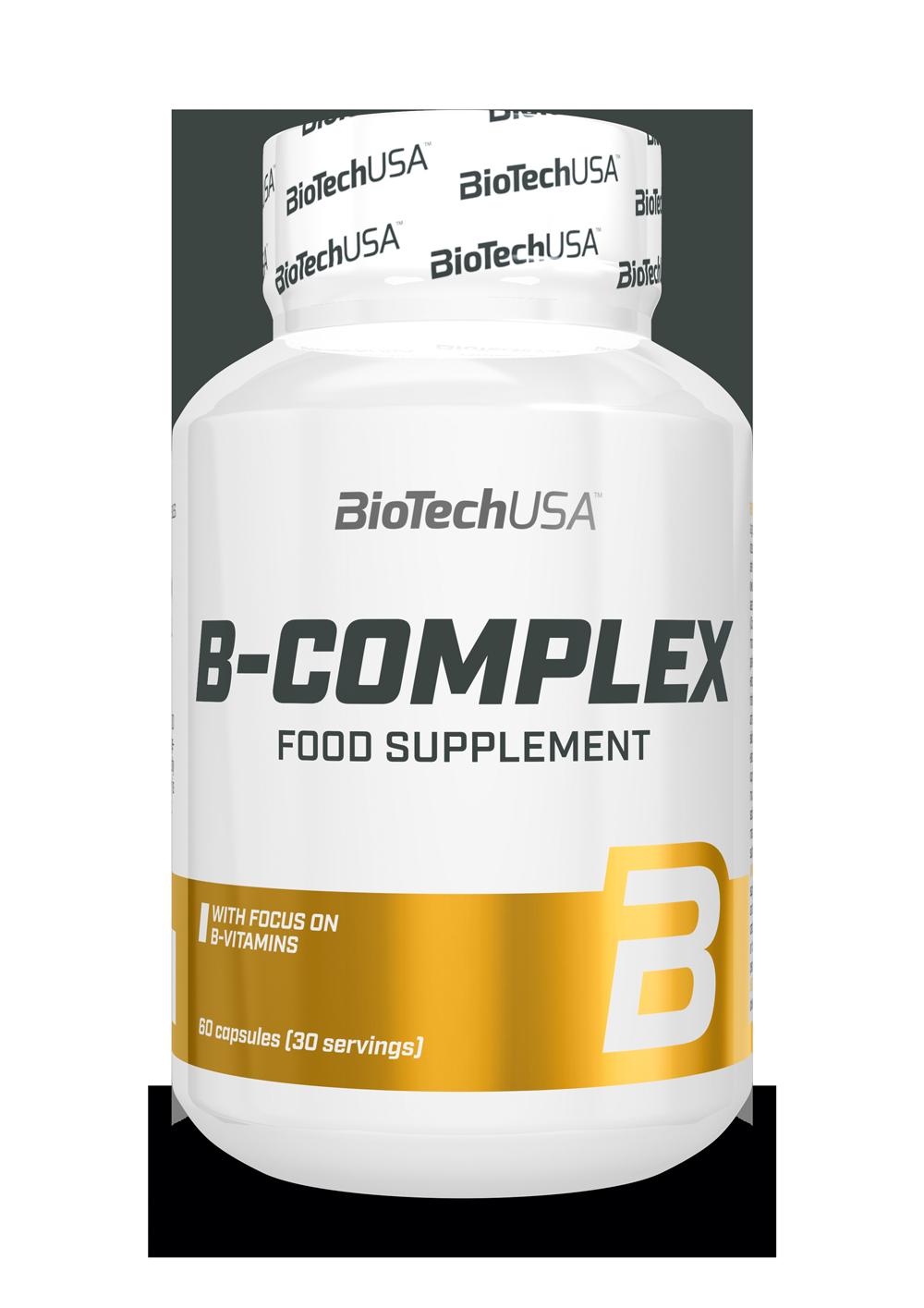 BioTech USA B-complex 60 caps.