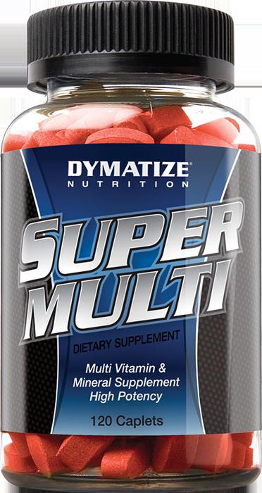 Dymatize Super Multi 120 caps.