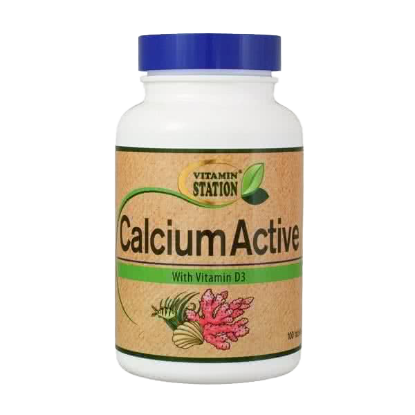 Vitamin Station Calcium Active 100 tab.