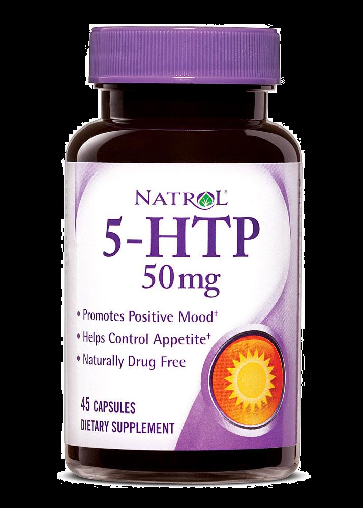 Natrol 5-HTP (50 mg) 45 caps.