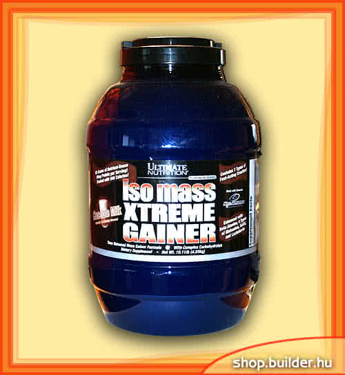 Ultimate Nutrition IsoMass Xtreme Gainer 4,5 kg