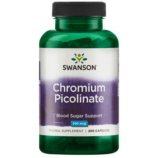 Swanson Chromium Picolinate 100 caps.