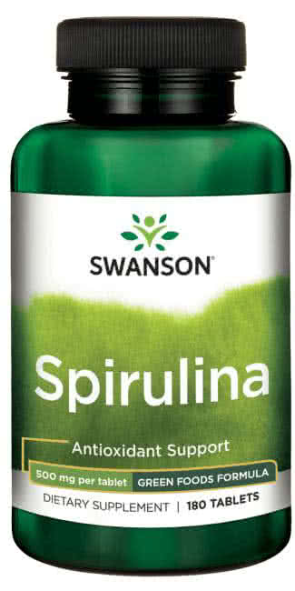 Swanson Spirulina 180 tab.