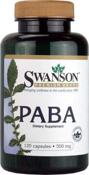 Swanson PABA 120 caps.