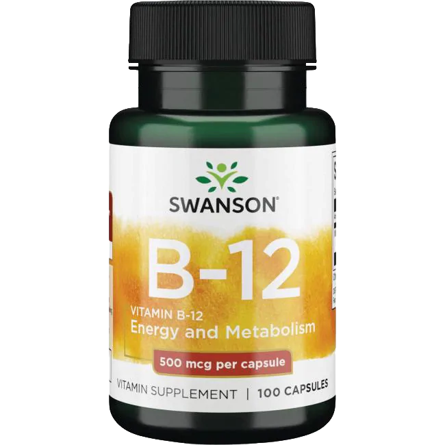Swanson Vitamin B-12 100 caps.