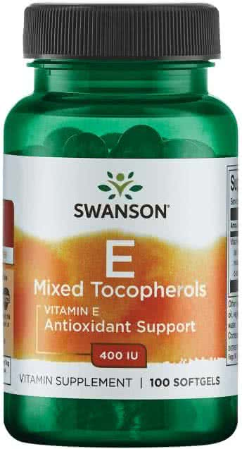 Swanson Vitamin E Mixed Tocopherols 100 g.k.