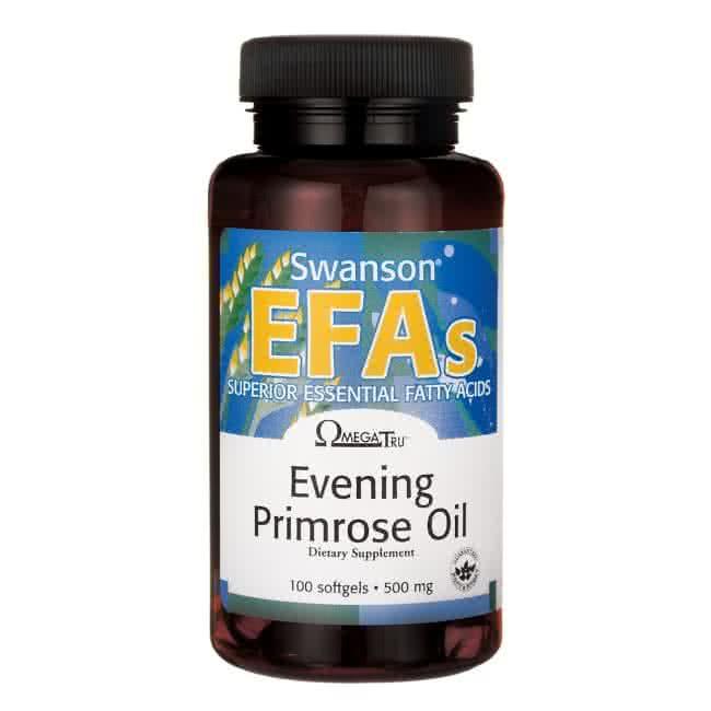 Swanson EFAs Evening Primrose Oil 100 caps.