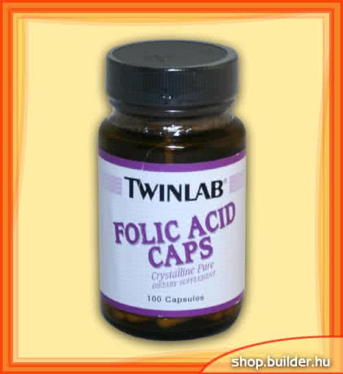 Twinlab Folic Acid 100 caps.