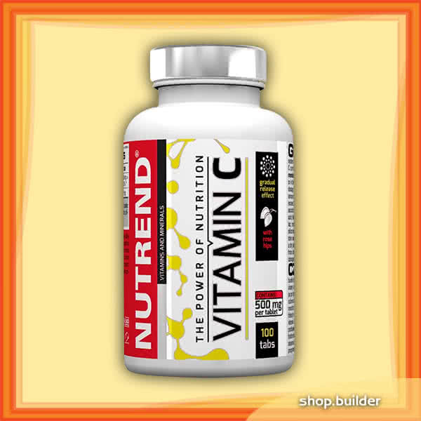 Nutrend Vitamin C with Rose Hips 100 tab.