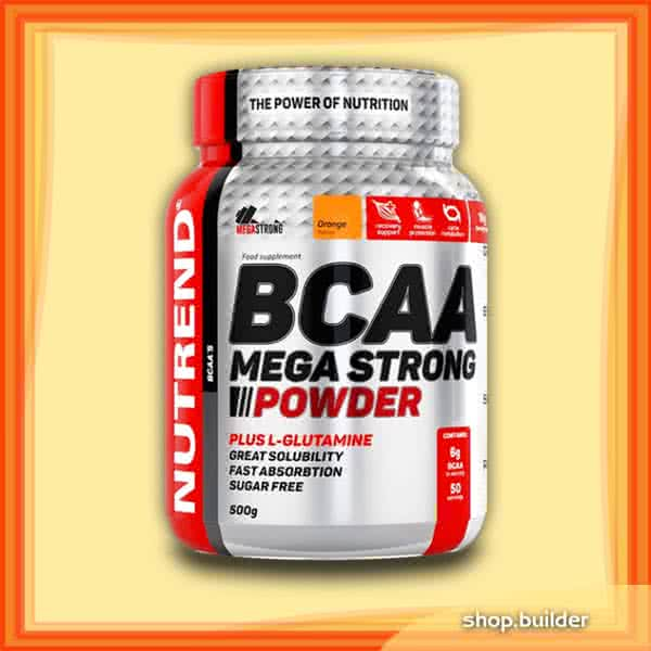 Nutrend BCAA Mega Strong Powder 500 gr.