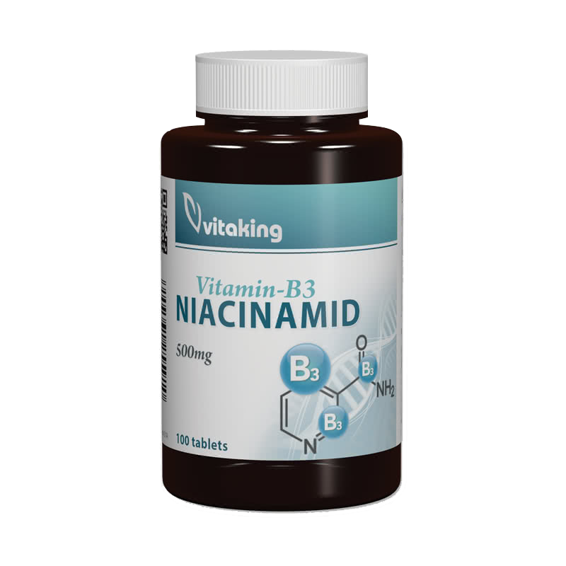 VitaKing Niacinamid (B3 vitamin) 100 tab.