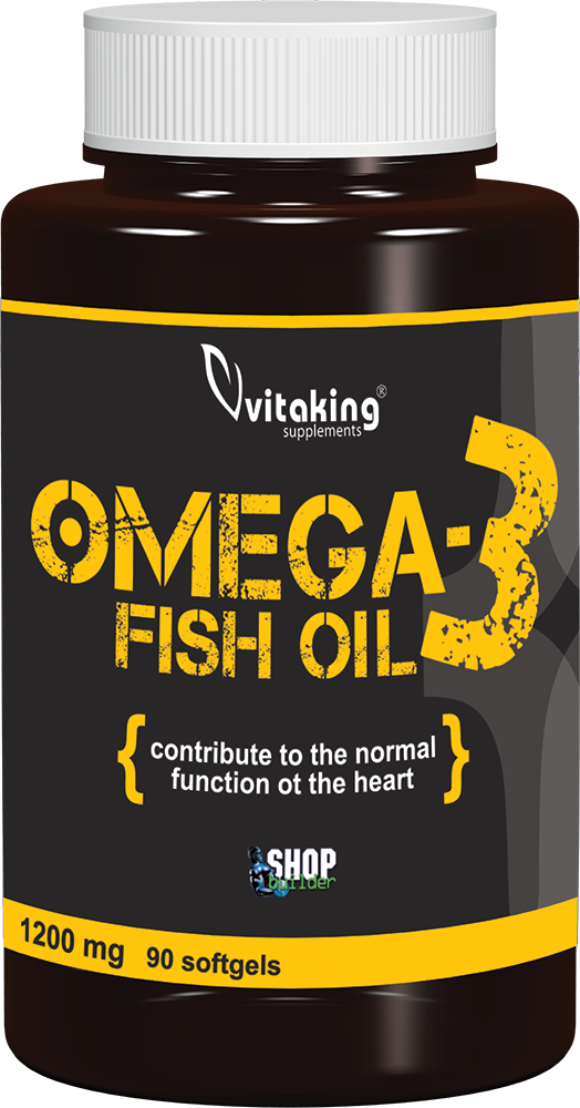 VitaKing Omega 3 (Fish Oil) 90 g.k.