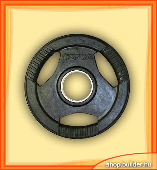 Alte echipamente sportive Rubber plate with grip 50mm 1,25 kg