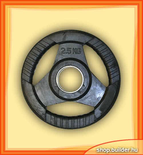 Alte echipamente sportive Rubber plate with grip 50mm 2,5 kg