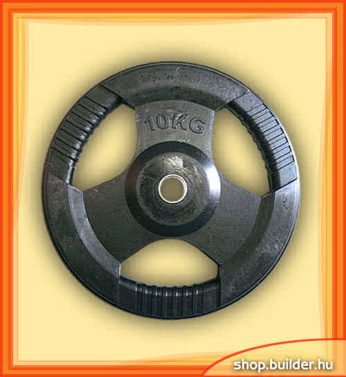 Alte echipamente sportive Rubber plate with grip 50mm 10 kg
