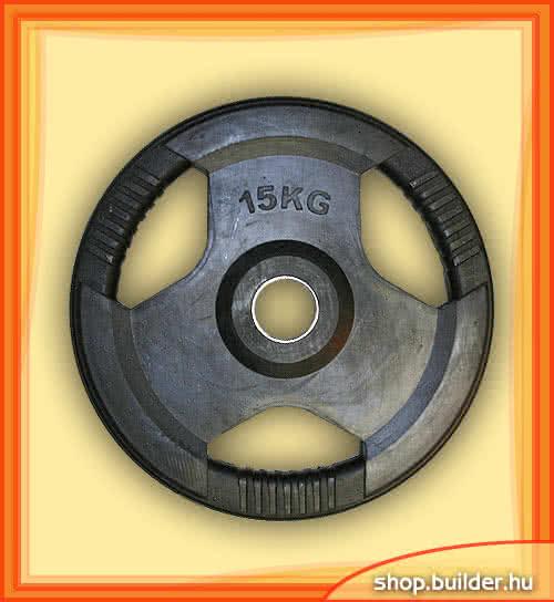 Alte echipamente sportive Rubber plate with grip 50mm 15 kg