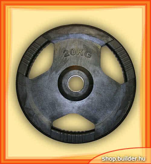 Alte echipamente sportive Rubber plate with grip 50mm 20 kg